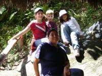 Visitantes Pailón del Diablo