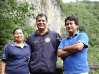 Rafael Correa en Pailón del Diablo